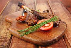bbq lamb chop