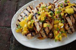 chicken and mango salsa 003