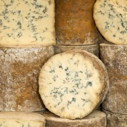 Whole baby stilton cheese