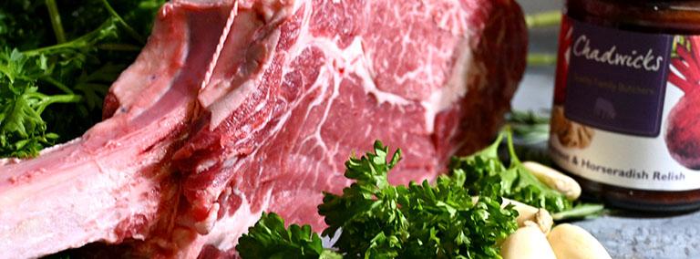 organic tomahawk steak