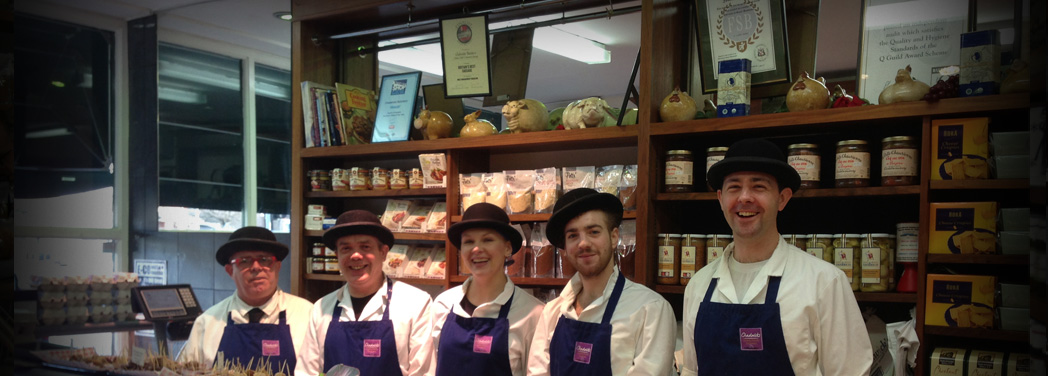 Our friendly team of butchers